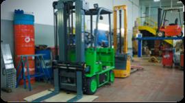 parti ed accessori di attrezzature per la movimentazione di merci
