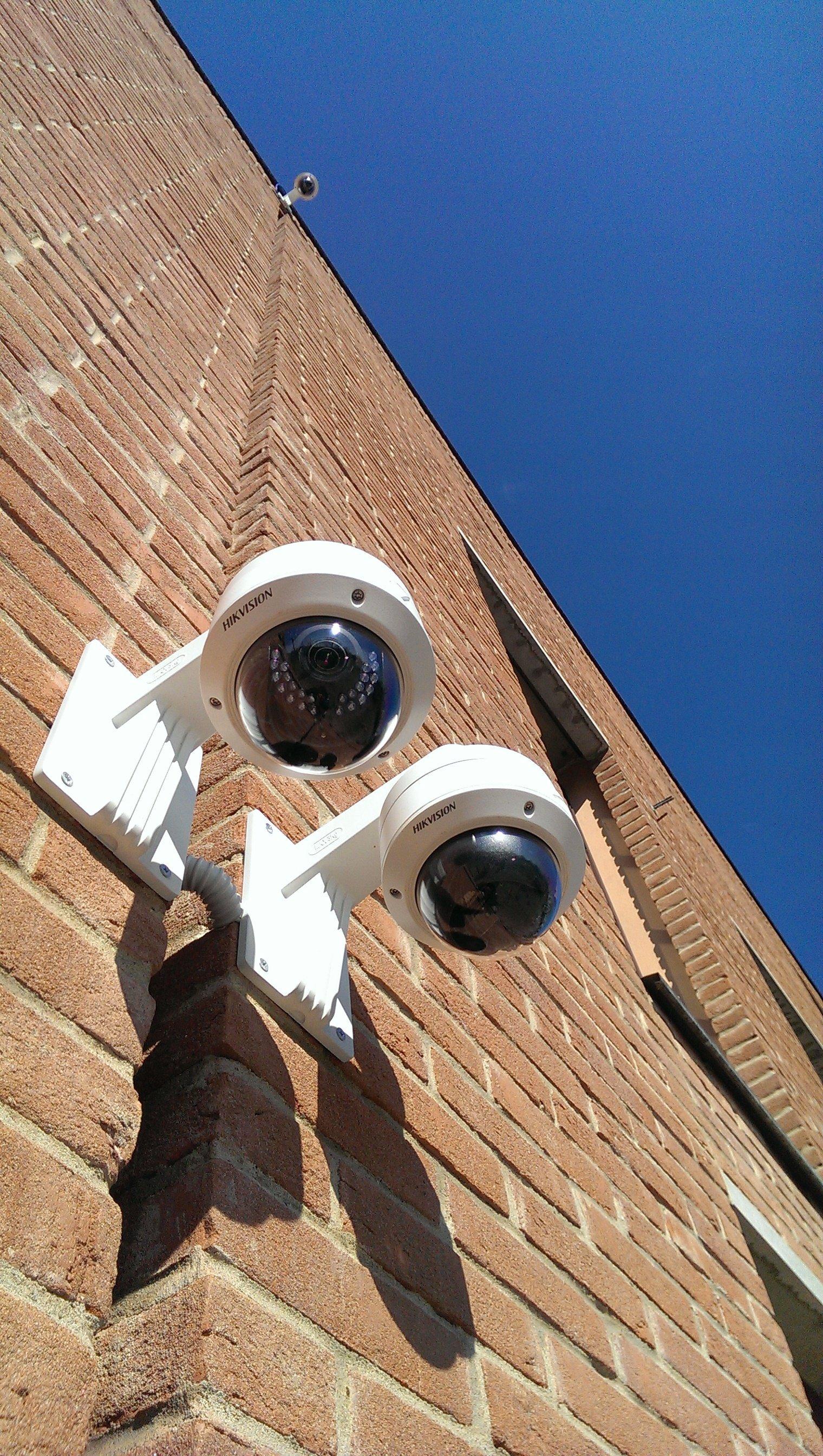 sistema videosorveglianza esterno