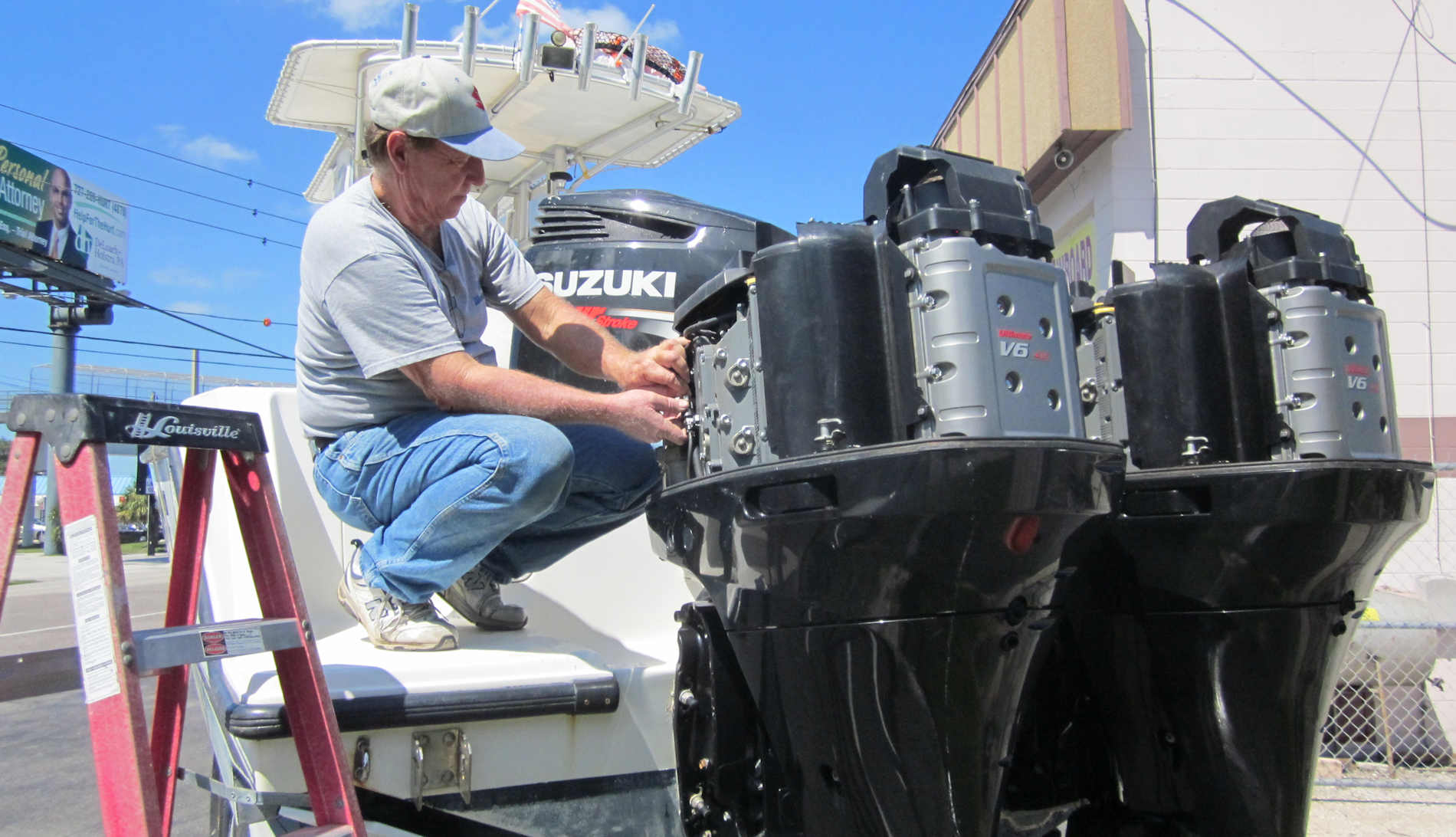 Mayday Marine Services Outboard Engine Repair And New
