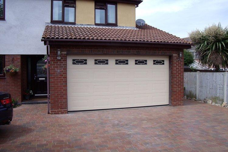 Ornamental garage doors