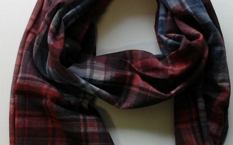 Foulard in tessuti stampati