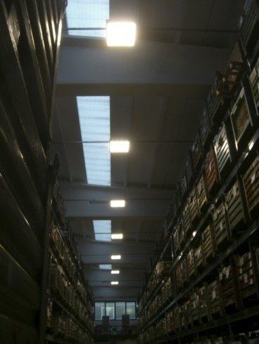 Illuminazione magazzini