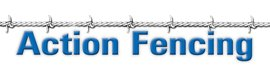action fencing business logo
