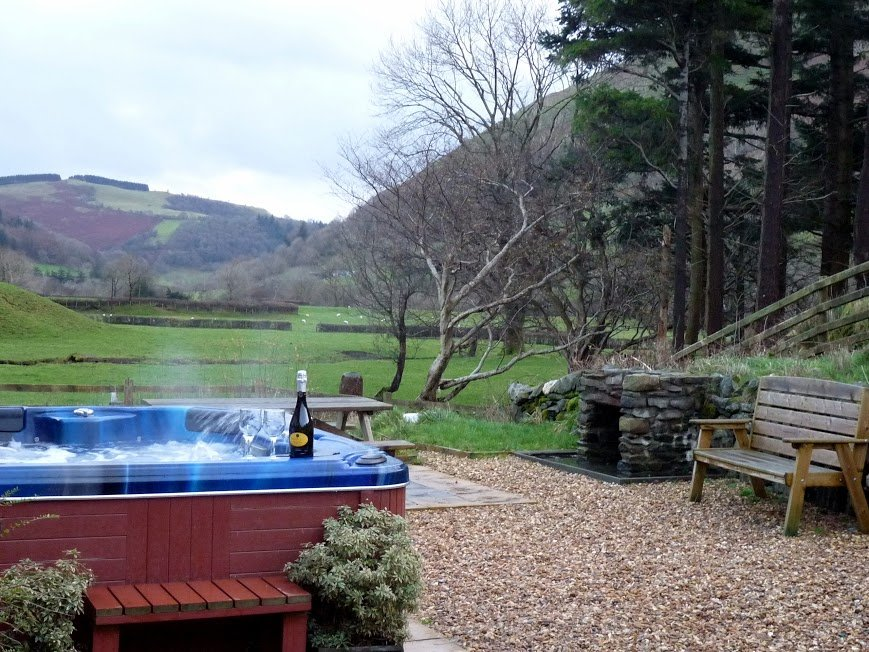 Peaceful valley location in Cwm Cywarch