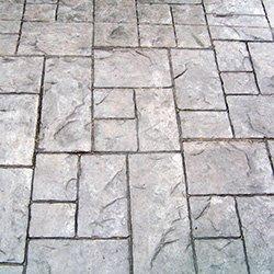 Ashler Slate Stamped Concrete