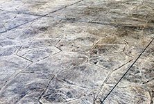 Orchard Stone Stamped Concrete