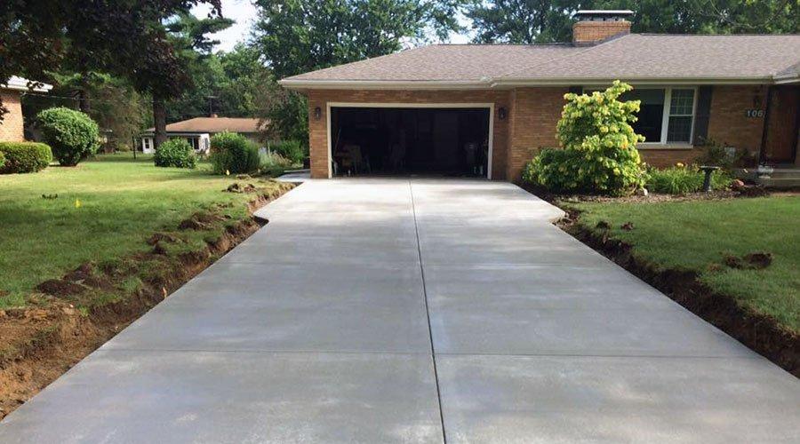 Concrete Driveway Replacement - Bloomington, IL