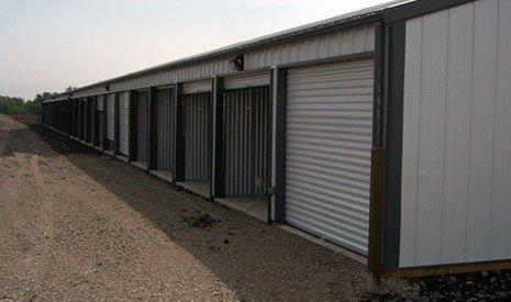 Storage Unit Concrete Shed Floor - Morton, IL