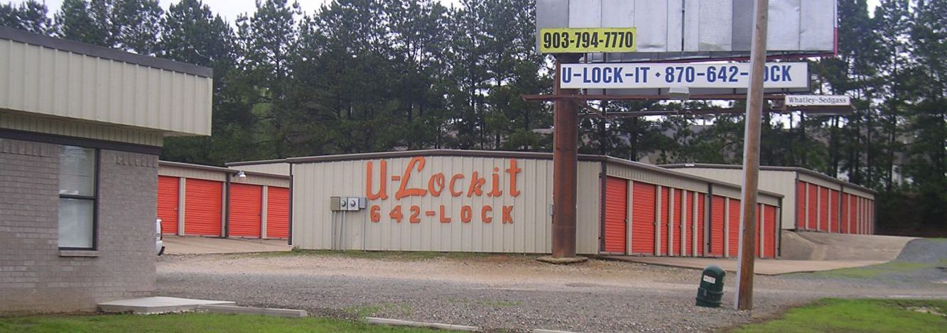 Our self storage facility in Mena and DeQueen, AR