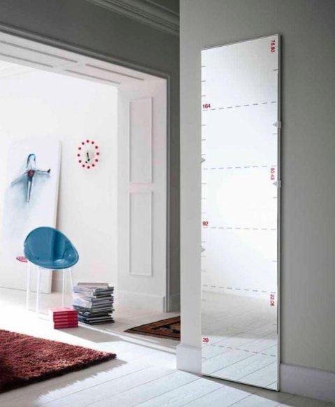 specchio righello
