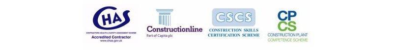 CHAS cscs CPCS logos