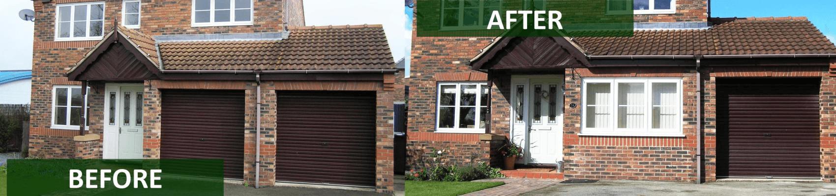 garage door refurbishment