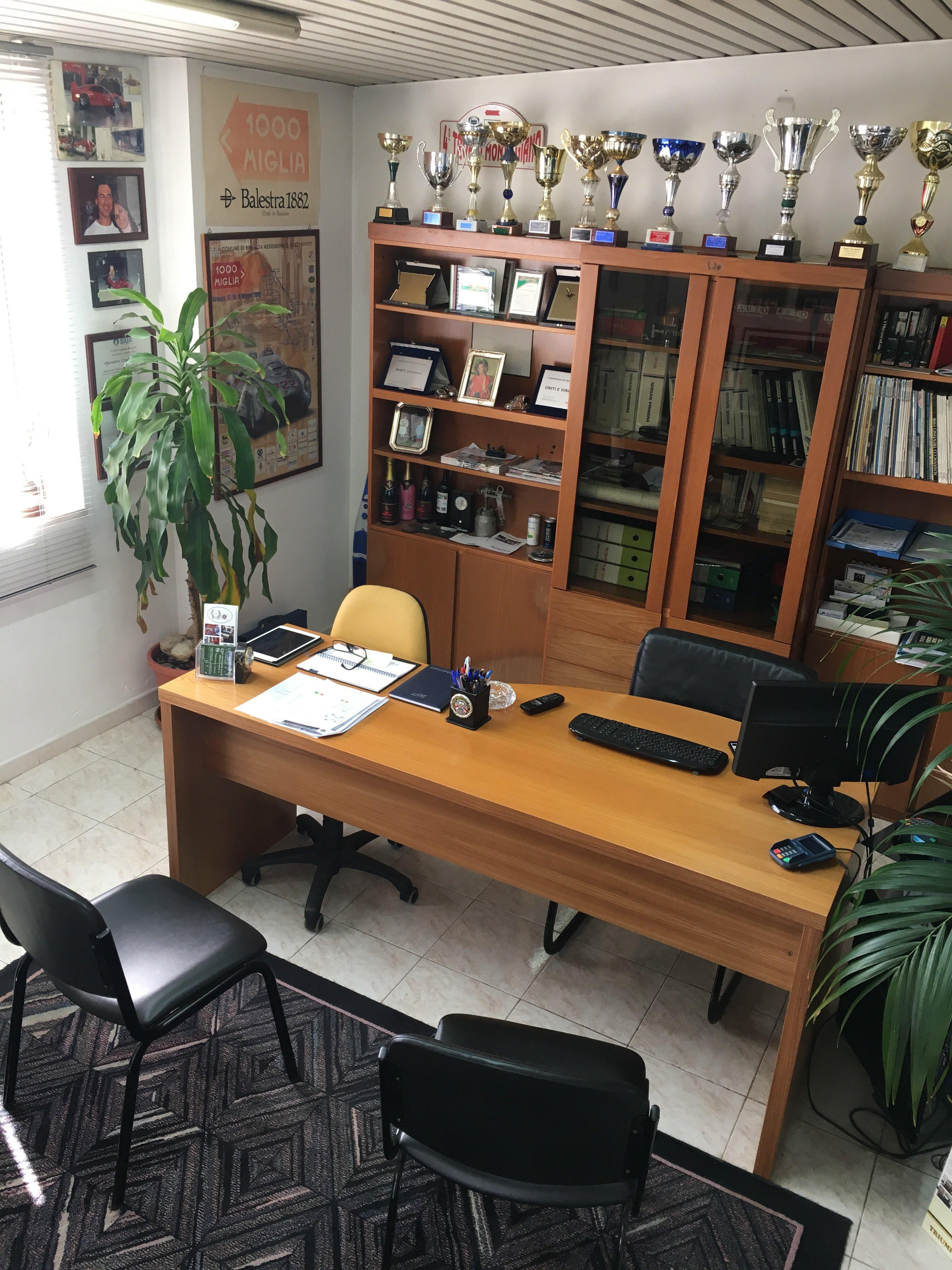 Ufficio con scrivania