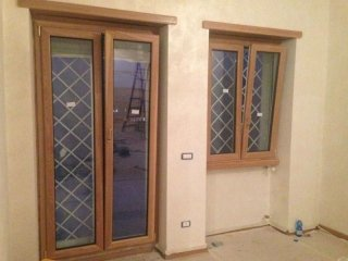 porte in alluminio e vetro