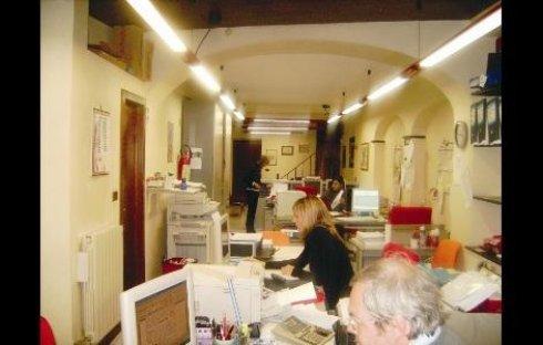ufficio con segretaria