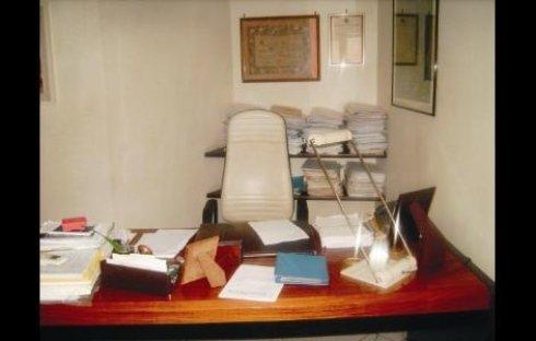 scrivania di un professionista