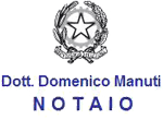 MANUTI DOMENICO NOTAIO - LOGO