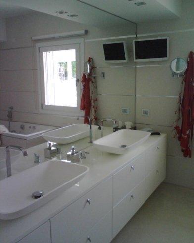 doppio lavabo per bagno