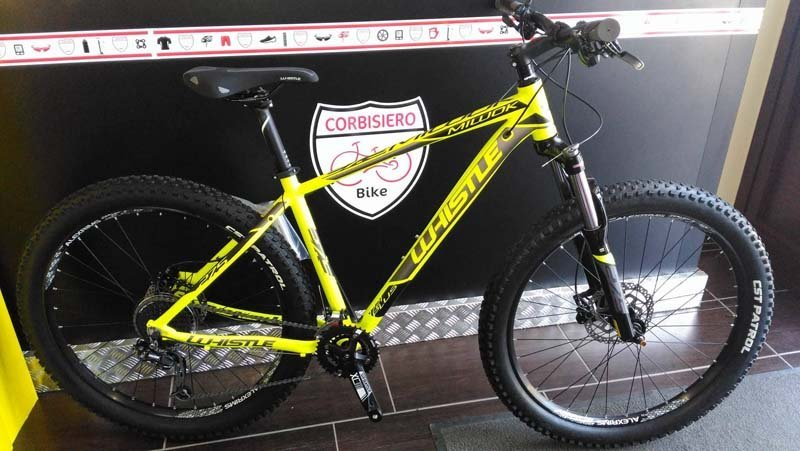 mountain bike gialla