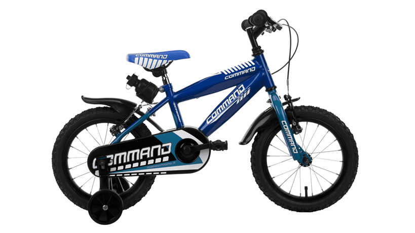 mountain bike da bambino blu