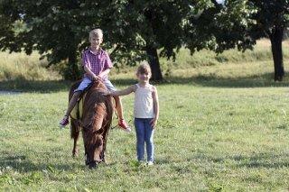 Corsi per bambini con pony