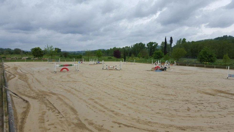 Campo in sabbia
