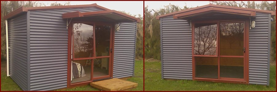Hand crafted portable cabins in Waikato