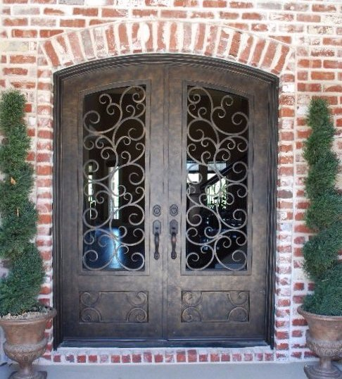Custom iron door in Roger, AR