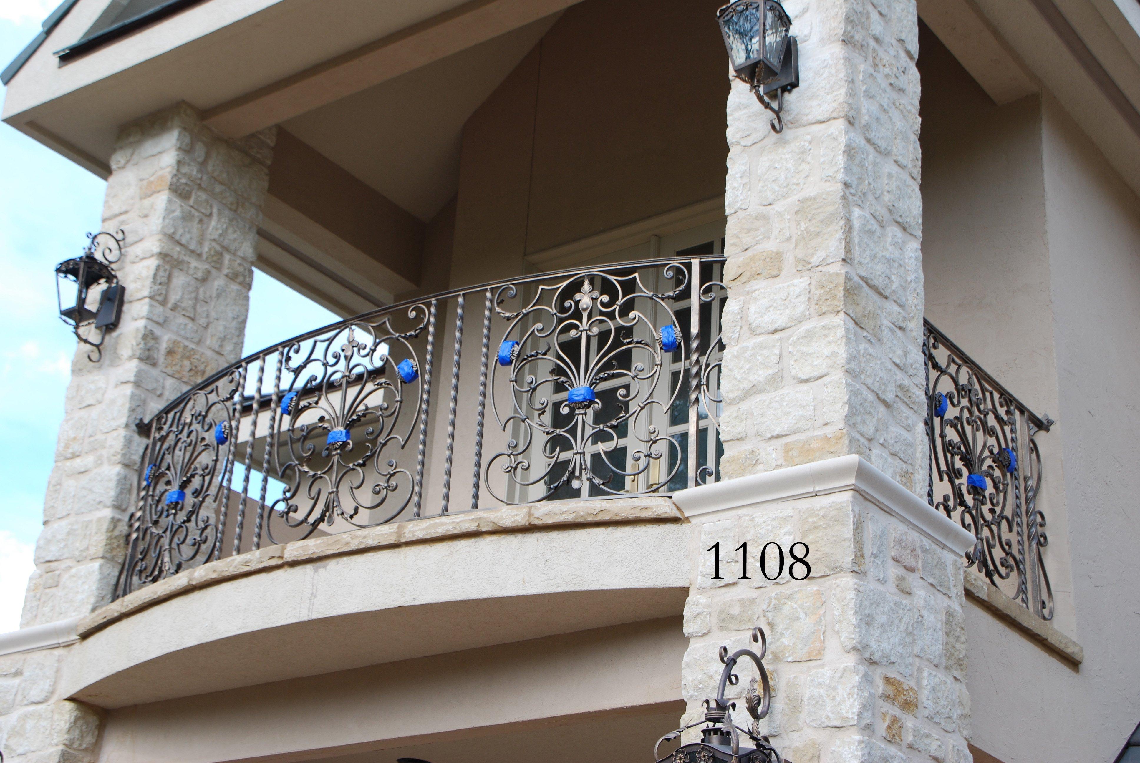 Curved And Interior Balconies Northwest Ar Custom Balconies
