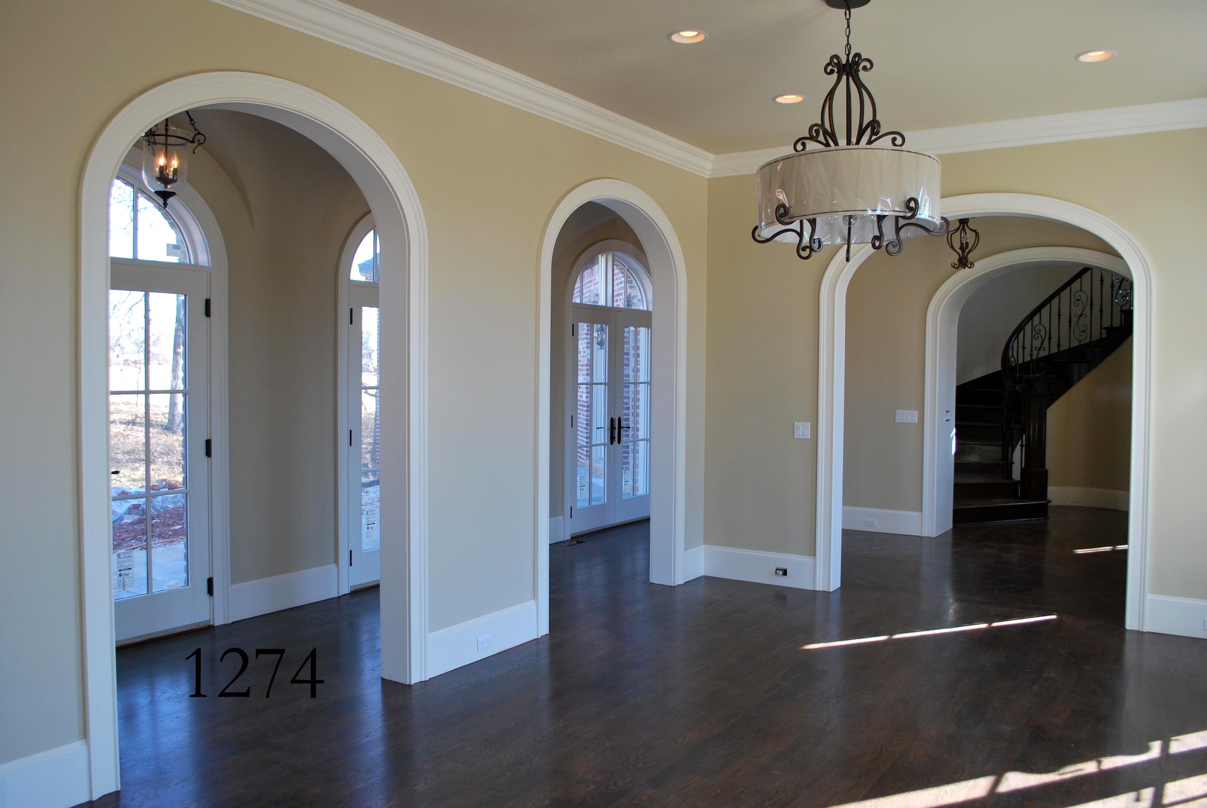 Elegant arches rounded archway mouldings in rogers arkansas - Archway designs for interior walls ...