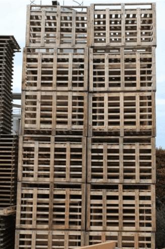 imballaggi di legno, pallet