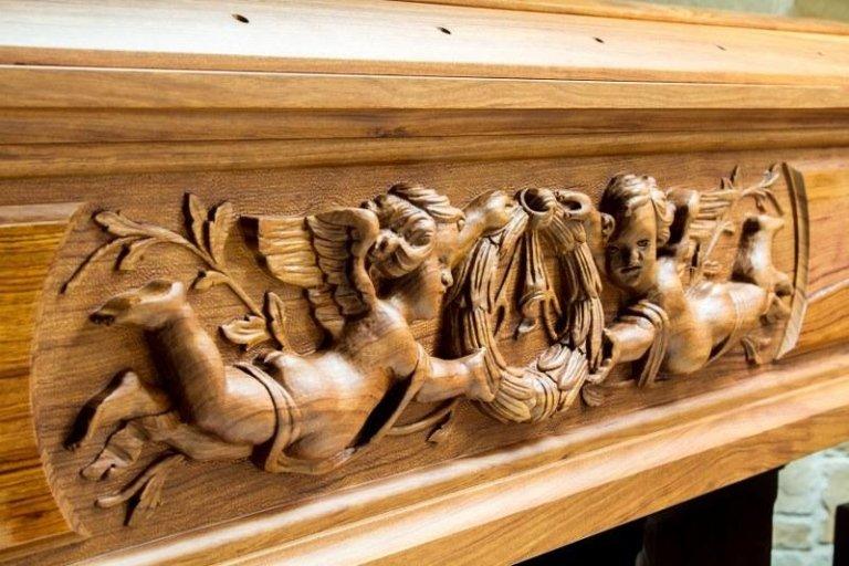 Cofani funebri decorati