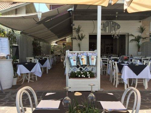 vista esterna del ristorante CAPITANO