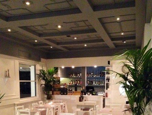 soffitto del ristorante