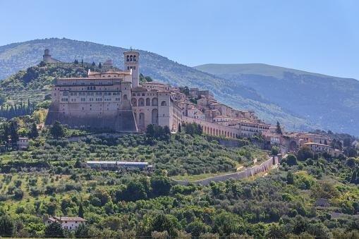Vista panoramica Assisi