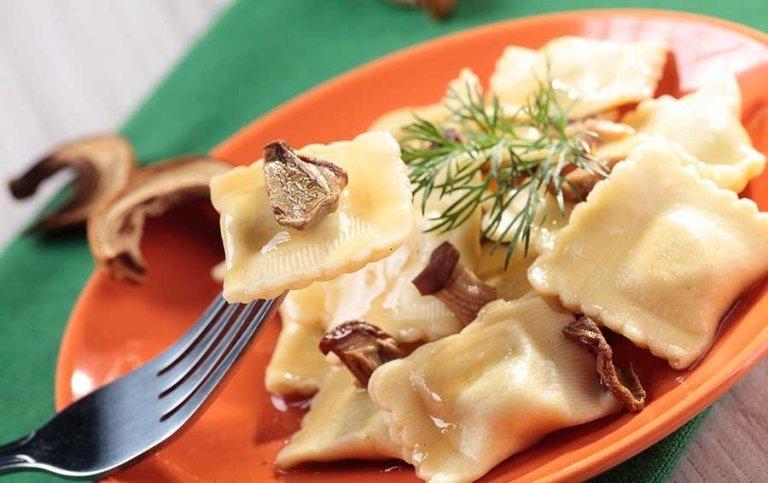 Tortellini ai funghi - Tenuta di Biscina - Gubbio