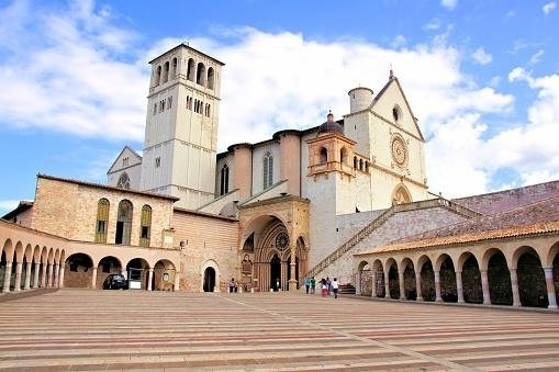 Courtyard of Basilica of St. Francis