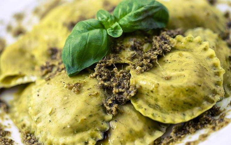 Tortellini al tartufo - Tenuta di Biscina - Gubbio