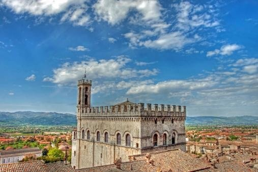 Panoramic view from Gubbio