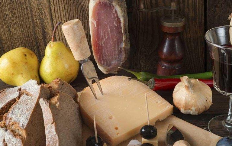 Insaccati e formaggi - Tenuta di Biscina - Gubbio