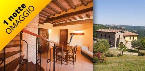 Vacation rental in Gubbio - one night free