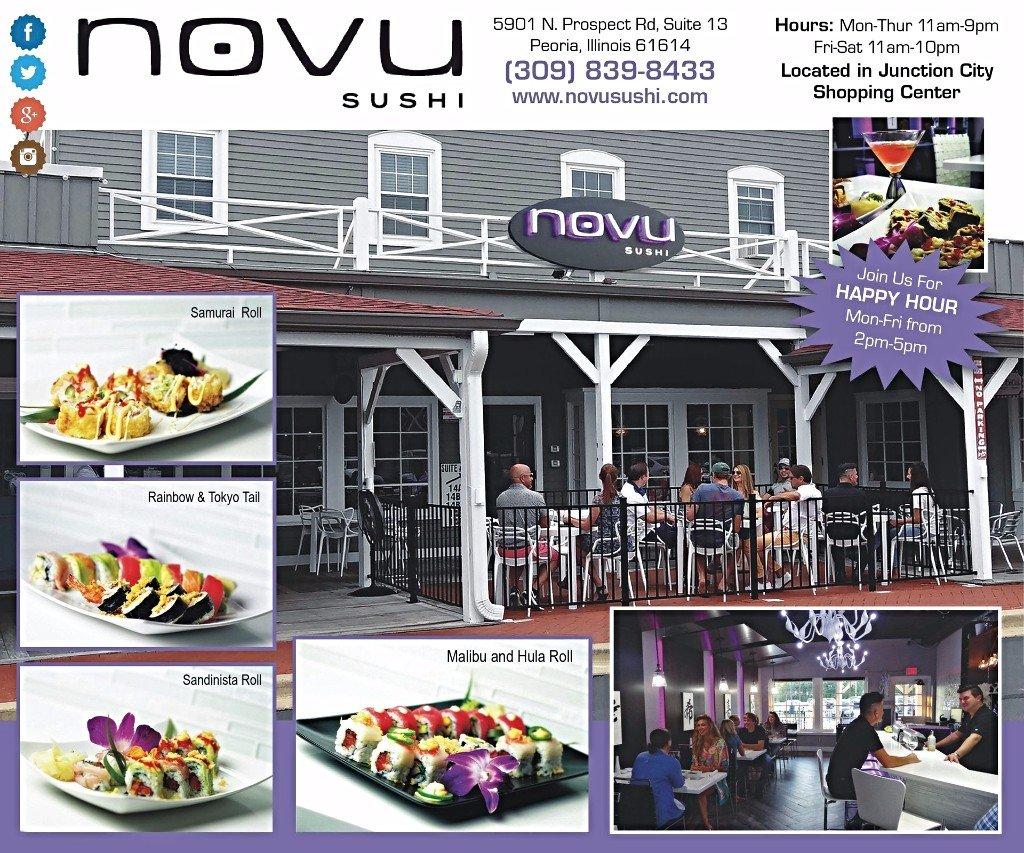 Novu Sushi discount offer coupons