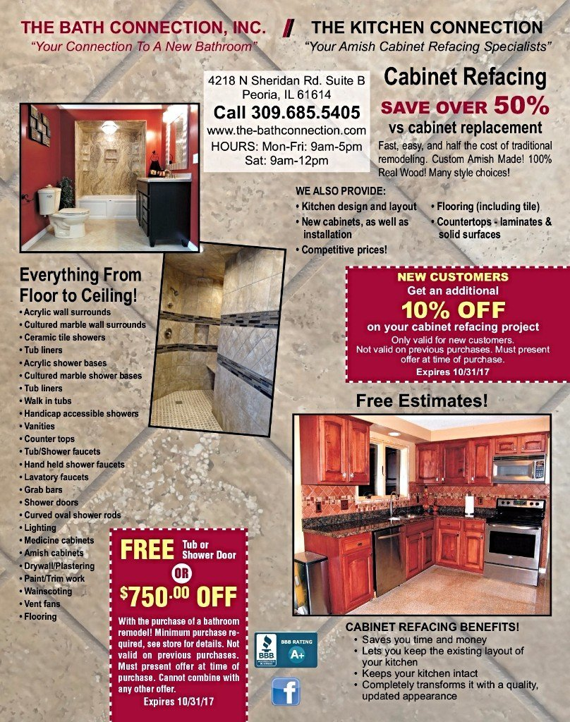 The Bath and Kitchen Connection bathroom offers coupons