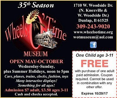 Wheels O Time Museum free child coupon