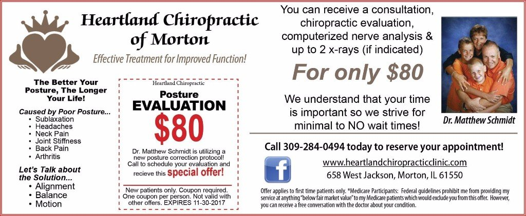 Heartland Chiropractic of Morton posture coupon