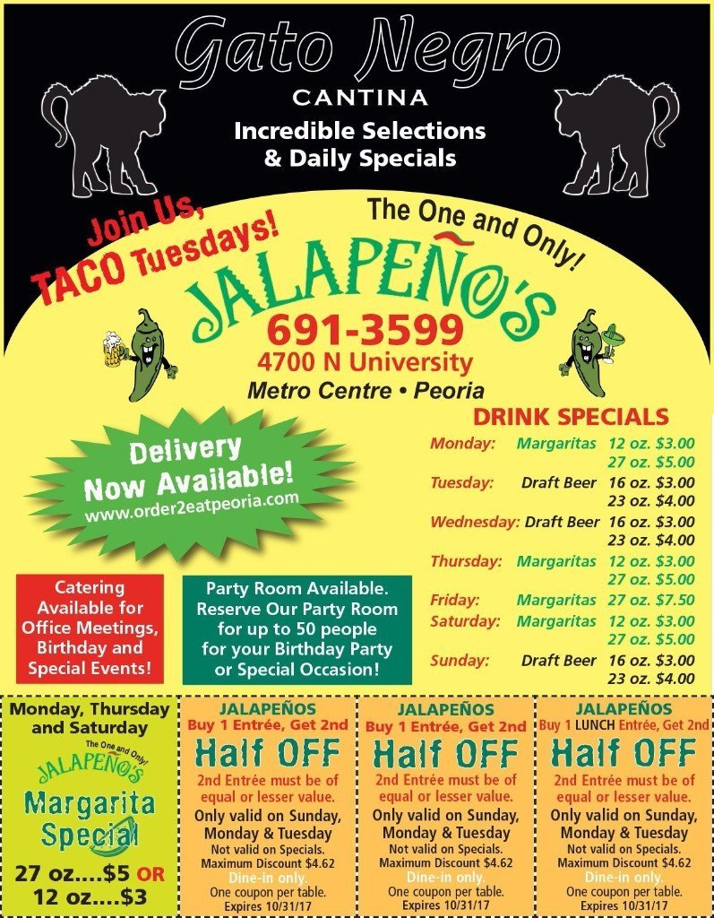 Jalapeno's Mexican Restaurant and Bar Peoria, IL