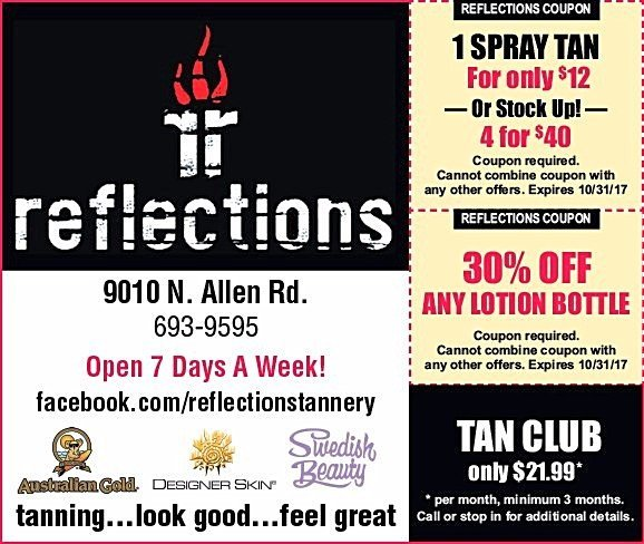 Reflections Tannery Salon and Spa coupons Peoria, IL