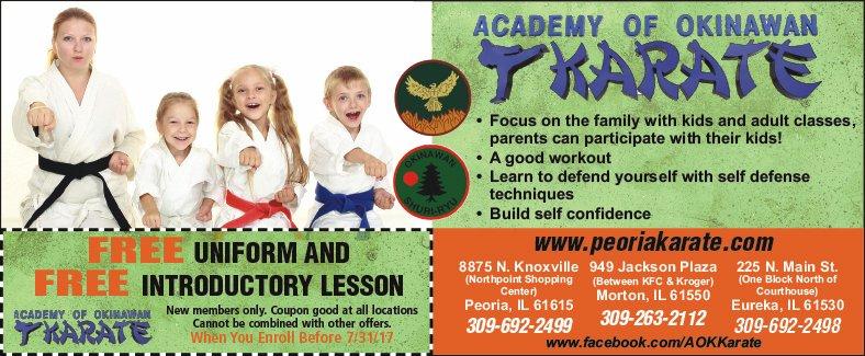 Academy of Okinawan Karate coupon