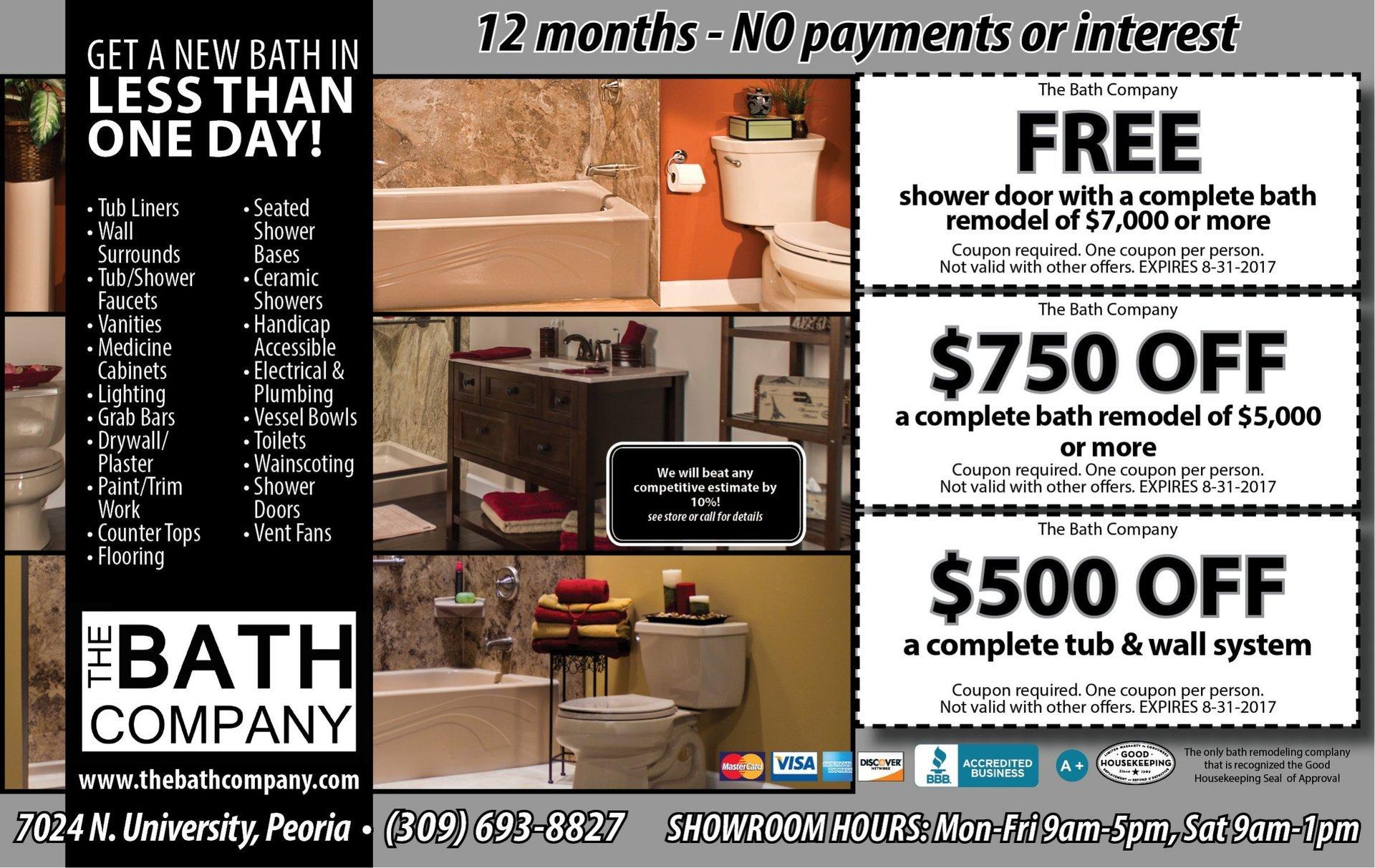 The Bath Company coupons
