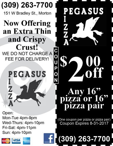 Pegasus Pizza coupon